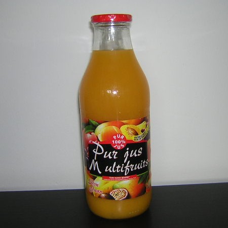 JUS MULTIFRUITS (100% PUR FRUITS)